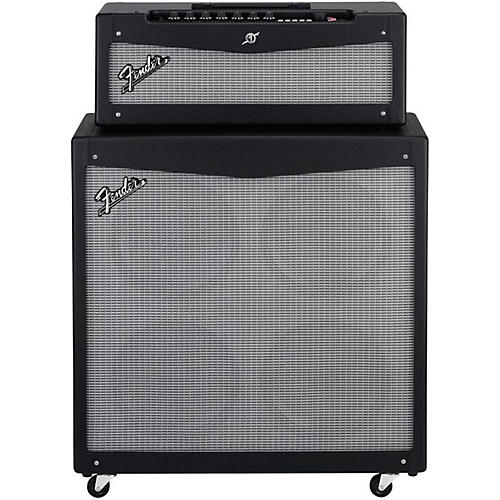 Fender Mustang V HD 150W Guitar Amp Head and 4x12 Guitar Speaker Cabinet-thumbnail