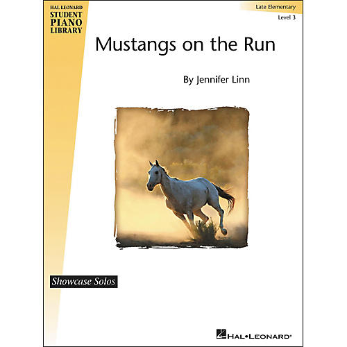 Hal Leonard Mustangs On The Run - Showcase Solo Level 3 Late Elementary Level Hal Leonard Student Piano Library by Jennifer Linn-thumbnail