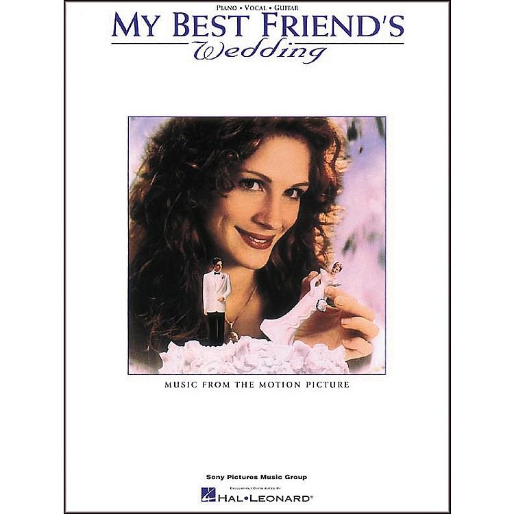 Hal LeonardMy Best Friend's Wedding Piano, Vocal, Guitar Songbook