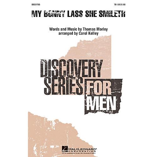 Hal Leonard My Bonny Lass She Smileth TB arranged by Carol Kelley
