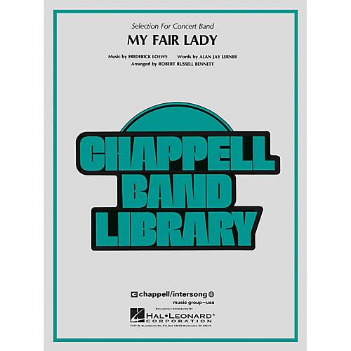 Hal Leonard My Fair Lady Concert Band Level 4 Arranged by Robert Russell Bennett-thumbnail