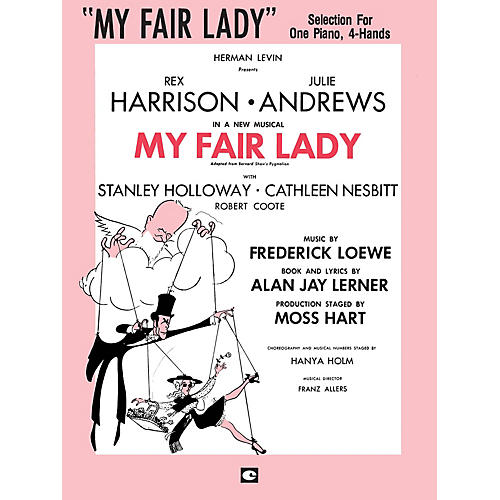 Hal Leonard My Fair Lady Duet Piano Education Series Composed by Frederick Loewe-thumbnail