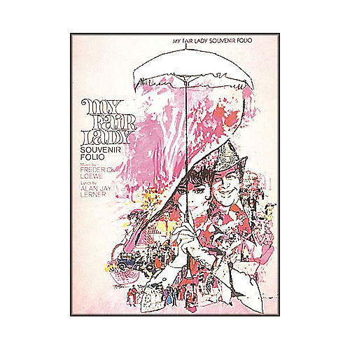 Hal Leonard My Fair Lady Souvenir Folio arranged for piano, vocal, and guitar (P/V/G)-thumbnail
