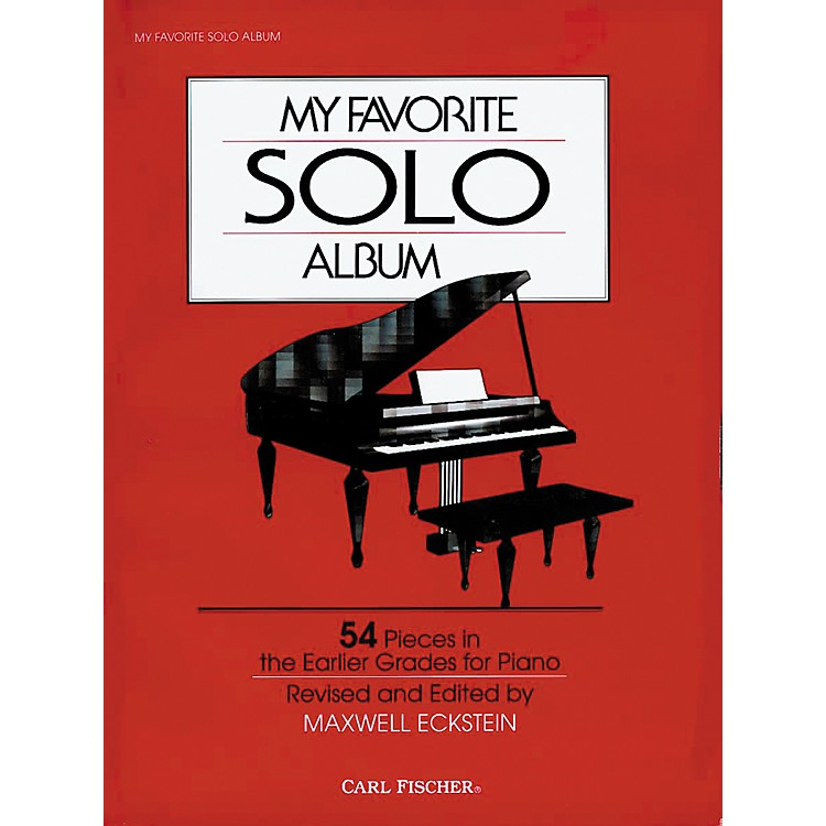 Carl Fischer My Favorite Solo Album Book