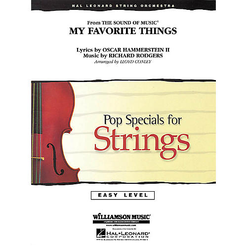 Hal Leonard My Favorite Things (from The Sound of Music®) Easy Pop Specials For Strings Series by Lloyd Conley-thumbnail