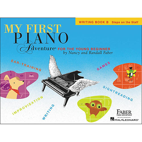 Faber Piano Adventures My First Adventure Writing Book B for The Young Beginner - Faber Piano