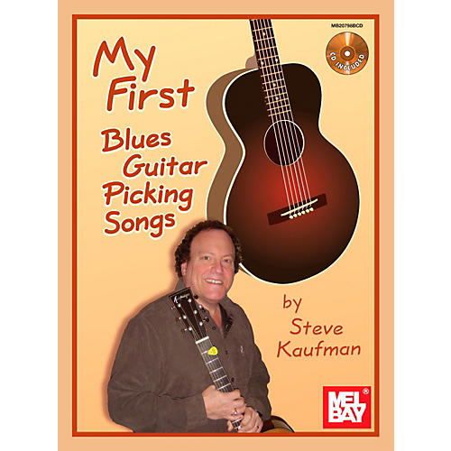 Mel Bay My First Blues Guitar Picking Songs