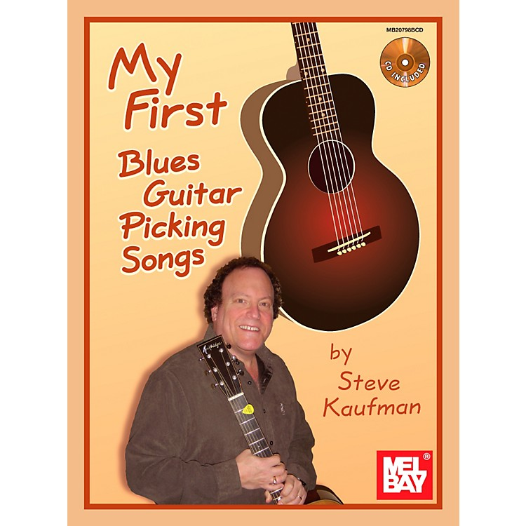 Mel BayMy First Blues Guitar Picking Songs