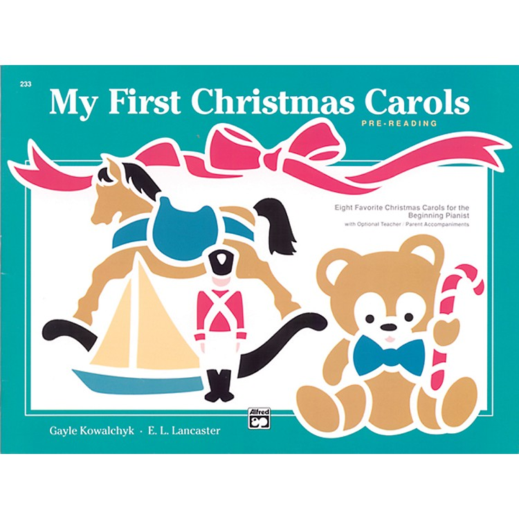 AlfredMy First Christmas Carols Early Elementary Book