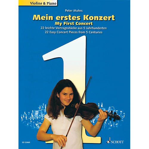 Schott My First Concert - 22 Easy Concert Pieces from 5 Centuries String Solo Series Softcover