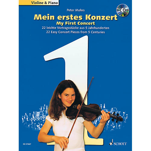 Schott My First Concert - for Violin and Piano String Series Softcover with CD