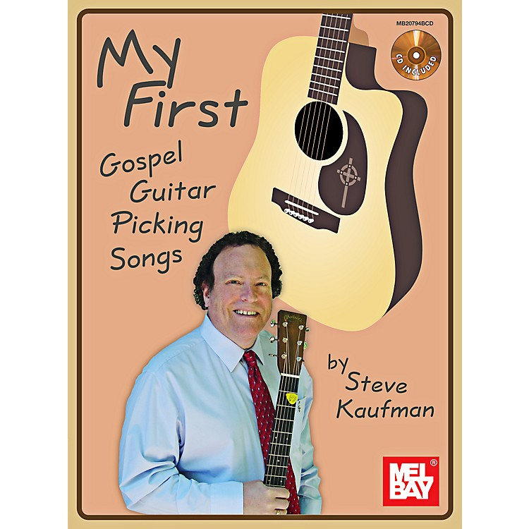 Mel Bay My First Gospel Guitar Picking Songs Book/CD Set