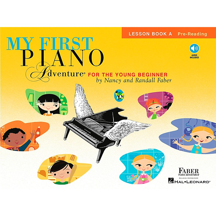 Faber Music My First Piano Adventure For The Young Beginner Lesson Bk A Pre-reading With Book/CD