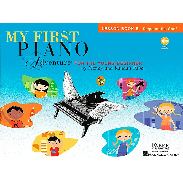 Faber Music My First Piano Adventure Lesson Book B with CD