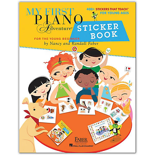 Faber Piano Adventures My First Piano Adventure Sticker Book-Faber Piano Adventures