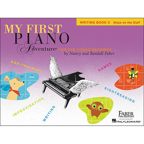Faber Piano Adventures My First Piano Adventure Writing Book C (Skips On The Staff) - Faber Piano