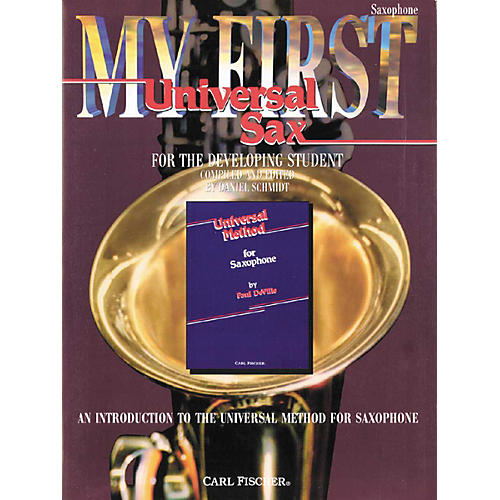 Carl Fischer My First Universal for Alto Saxophone