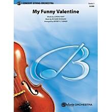 Alfred My Funny Valentine String Orchestra Grade 3