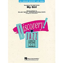 Hal Leonard My Girl Jazz Band Level 1 by The Temptations Arranged by John Berry