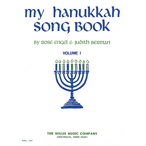Willis Music My Hanukkah Song Book (Vol. 1/Early Inter Level) Willis Series Book by Rose Engel-thumbnail