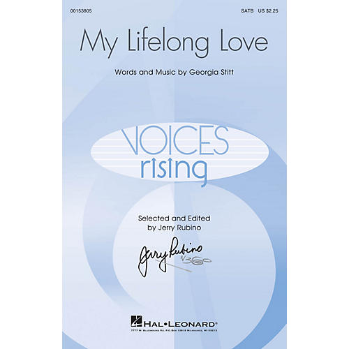 Hal Leonard My Lifelong Love SATB composed by Georgia Stitt-thumbnail