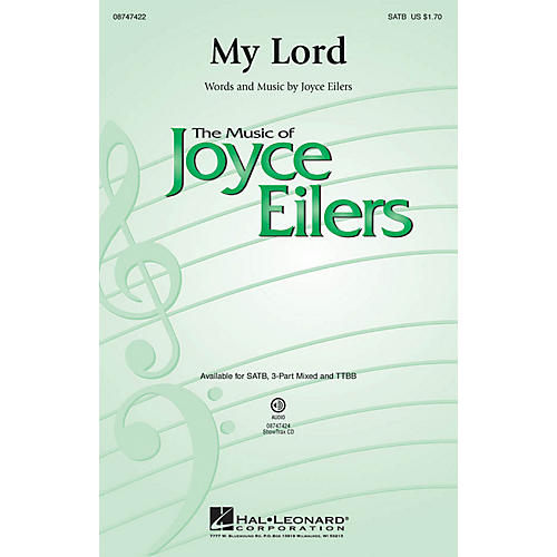 Hal Leonard My Lord TTBB Composed by Joyce Eilers-thumbnail