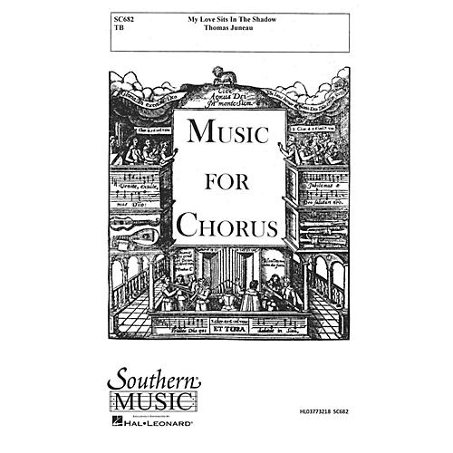 Hal Leonard My Love Sits In The Shadow (Choral Music/Octavo Secular 2-par) TB Composed by Juneau, Thomas
