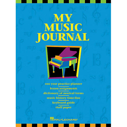 Hal Leonard My Music Journal Student Assignment Book HLSPL