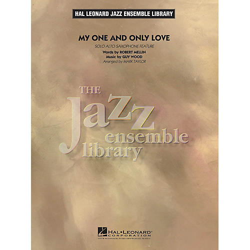 Hal Leonard My One and Only Love Jazz Band Level 4 Arranged by Mark Taylor-thumbnail