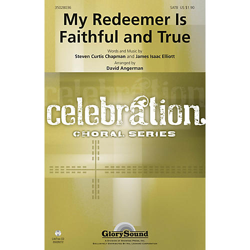 Shawnee Press My Redeemer Is Faithful and True SATB arranged by David Angerman-thumbnail