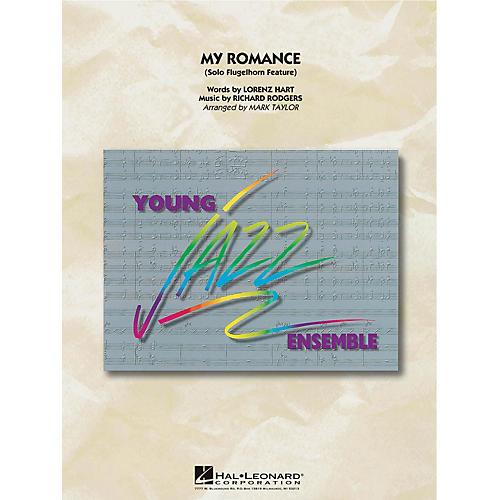 Hal Leonard My Romance (Flugelhorn Feature) Jazz Band Level 3 Arranged by Mark Taylor