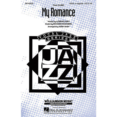 Hal Leonard My Romance SSAA A Cappella arranged by Kirby Shaw-thumbnail