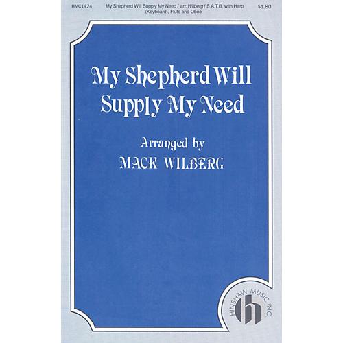 Hinshaw Music My Shepherd Will Supply My Need SATB arranged by Mack Wilberg-thumbnail