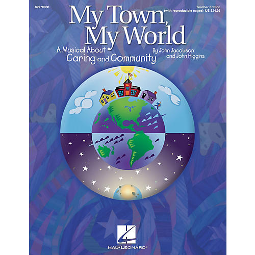 Hal Leonard My Town, My World (A Musical About Caring and Community) ShowTrax CD by John Jacobson, John Higgins-thumbnail