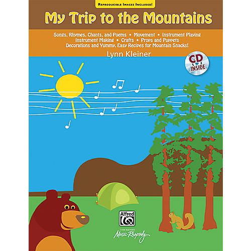 Alfred My Trip to the Mountains Song and Activity (Book & CD)-thumbnail