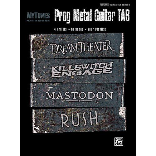 Alfred My Tunes: Prog Metal Guitar Tab Book