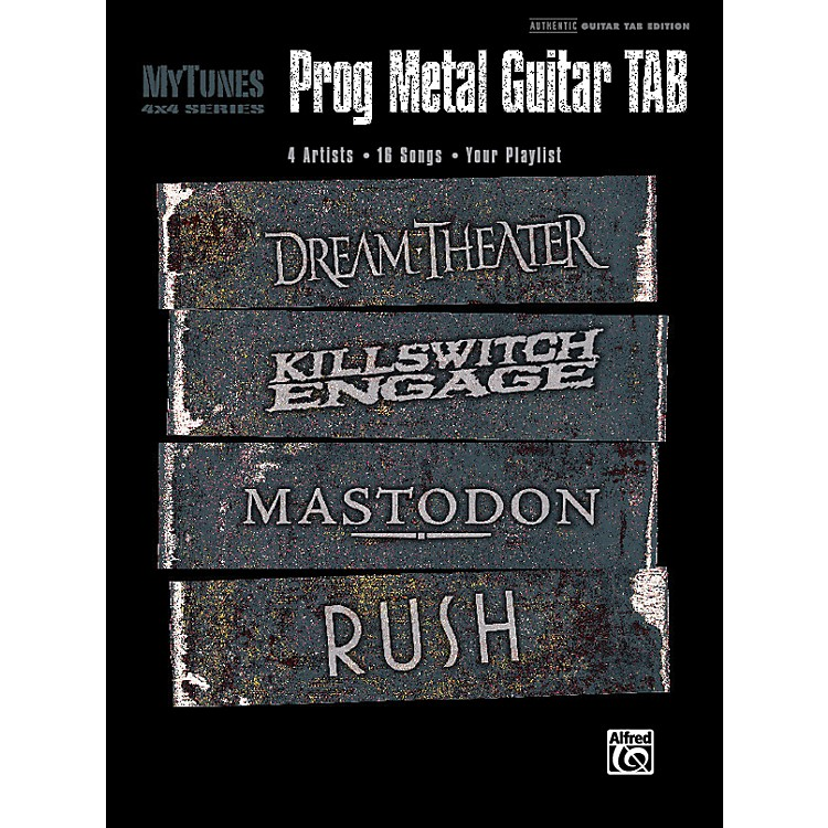 Alfred My Tunes: Prog Metal Guitar Tab Book