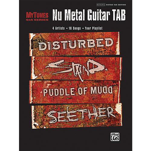 Alfred MyTunes: Nu Metal Guitar Tab (Book)