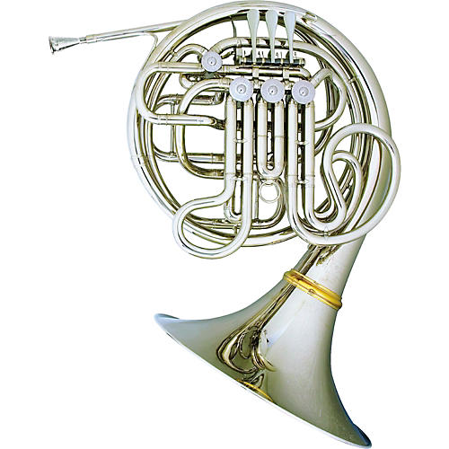 Hans Hoyer Myron Bloom 7802 Bb/F Double French Horn String Mechanism-thumbnail