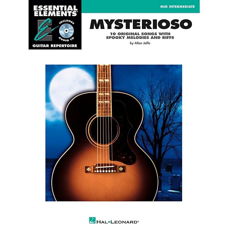 Hal LeonardMysterioso - Mid Intermediate Essential Elements Guitar Repertoire Book/CD