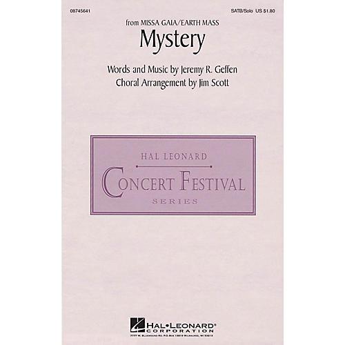 Hal Leonard Mystery (from Missa Gaia/Earth Mass) SATB Chorus and Solo arranged by Jim Scott
