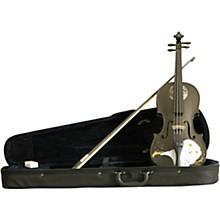 Rozanna's Violins Mystic Owl Black Glitter Series Violin Outfit