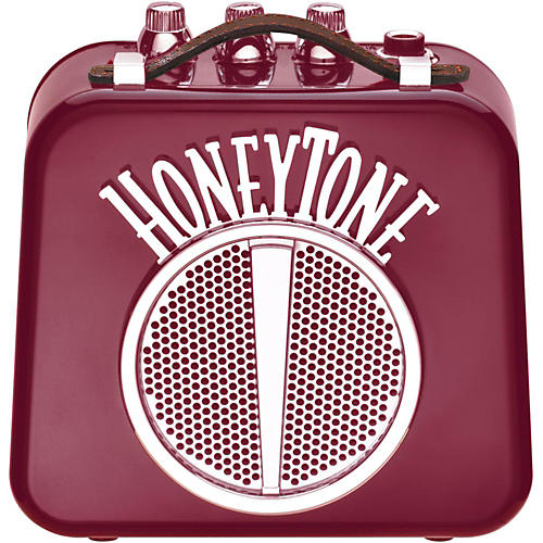 Honeytone N-10 Guitar Mini Amp Burgundy