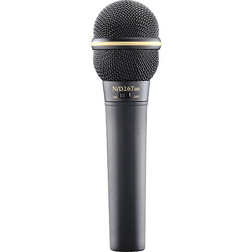 Electro-Voice N D267AS Dynamic Microphone with On Off Switch