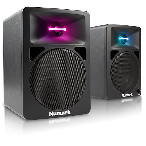Numark N-Wave 580 Desktop DJ Monitoring System-thumbnail