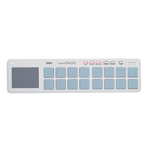 Korg NANOPAD2 USB Drum Pad Controller White