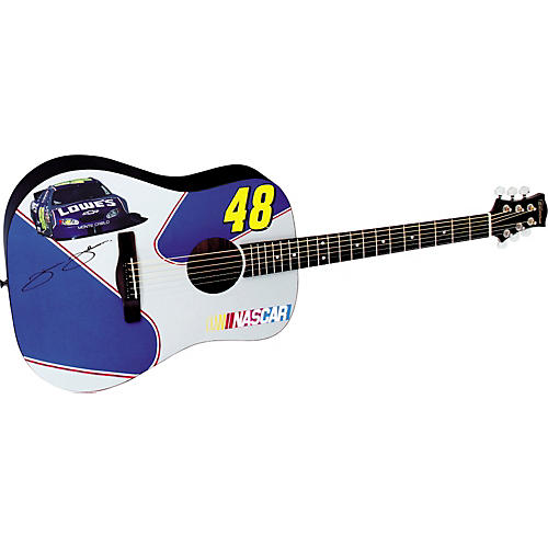Silvertone NASCAR Collection Jimmy Johnson Acoustic Guitar