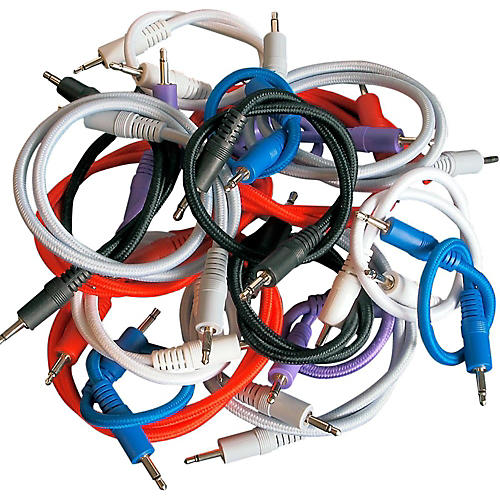 Pittsburgh Modular Synthesizers NAZCA Audio Patch Cable 18-Pack For Modular Synthesizers-thumbnail