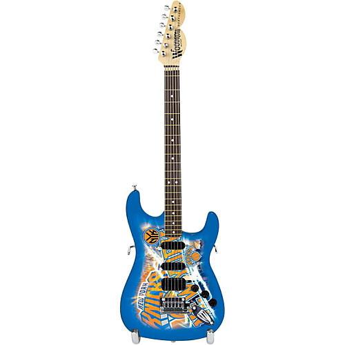 Woodrow Guitars NBA 10 Inch Mini Guitar Collectible-thumbnail
