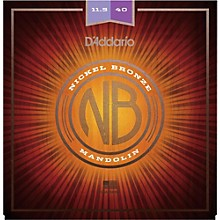 D'Addario NBM11540 Nickel Bronze Custom Medium Mandolin Strings (11.5-40)